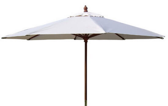 木製大洋傘