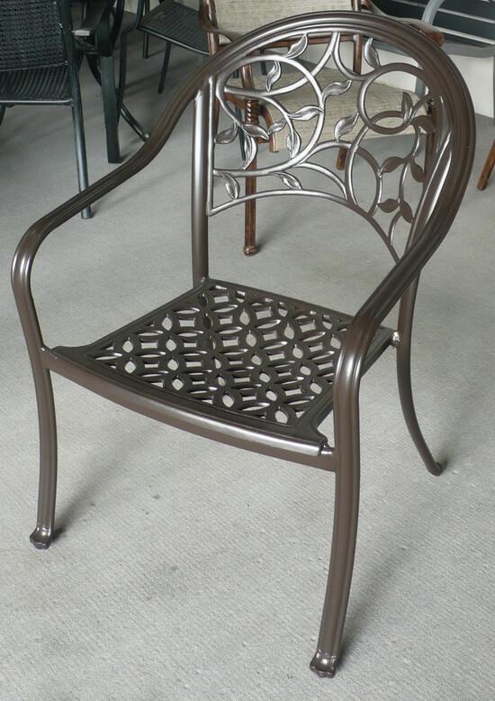 戶外鑄鐵椅