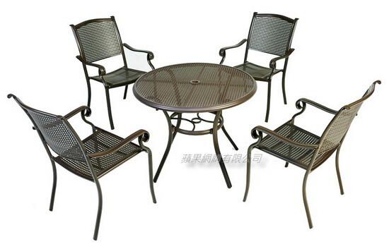 鑄鋁戶外桌椅