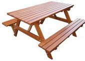 庭園實木桌